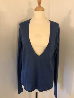 Sommer Pullover von Bruno Manetti aus Seidenerjersy Gr.38 NEU