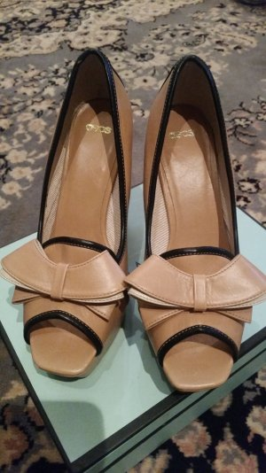 SOMMER PUMPS GR:38 LUXUS PUR NEU