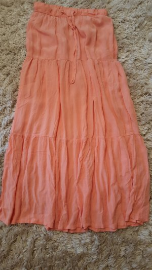 Broomstick Skirt nude-orange