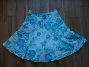 Orsay Jupe évasée blanc-bleu clair