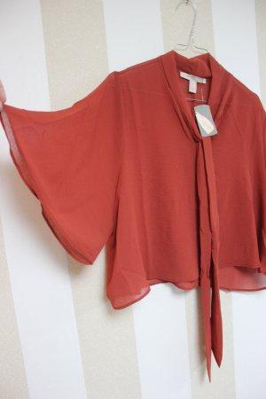 SOMMER SALE - Neu Bluse Crop Shirt - SOMMER SALE