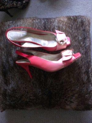 Sommer Sale!!! Sandaletten Peeptoe, Lackleder