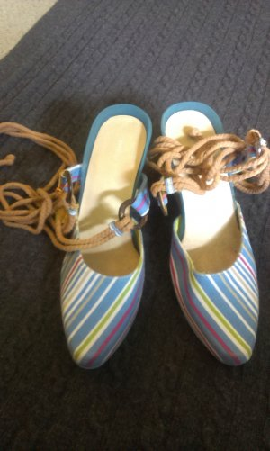 Diesel Wedge Sandals multicolored