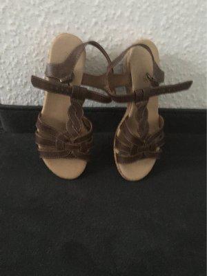 Ariane Sandalo con cinturino marrone scuro