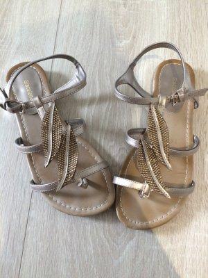 Deichmann Sandals beige