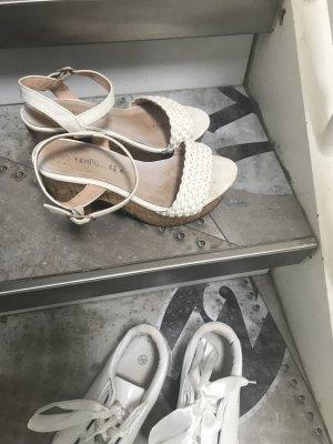 Sommer Sandalen mit tollem Absatz