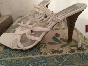 Made in Italy High Heel Sandal white
