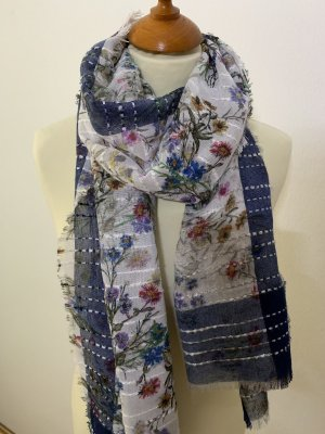Orsay Summer Scarf white-blue