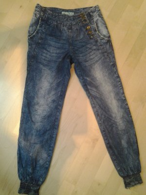 Blind Date Jeans taille basse bleu
