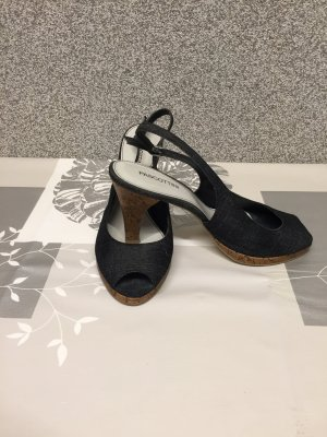 Sommer Schuhe in Jeans Optik