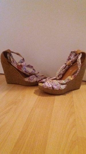 Sommer Schuhe mit keilabsatz 35