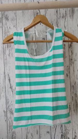 T-shirt rayé multicolore