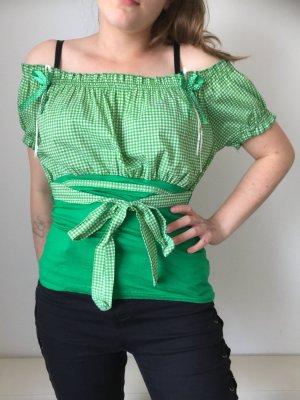 Sommer Shirt grün Tracht