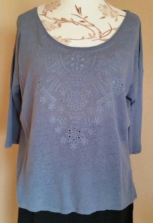 Sommer Shirt mit 7/8 Ärmel Gr. 42