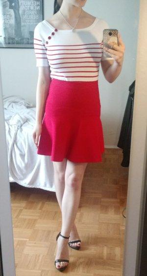 Sommer Shirt Palph Lauren Gr. S 36 Top weiß rot Sailor Kurzarm sommer streifen