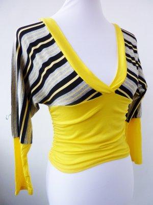 V-hals shirt veelkleurig