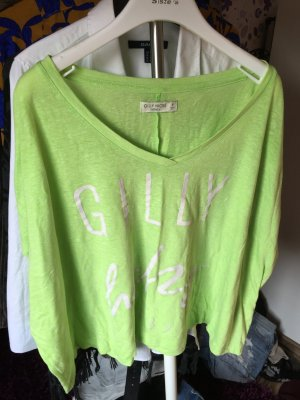 Sommer Shirt von Gilly Hicks in neon grün S