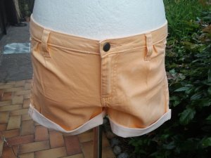 Sommer Shorts, Gr. M/L 38/40 apricot Pieces kurze Hose