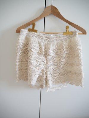 Sommer Shorts in Häkeloptik // Größe 38