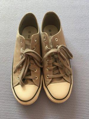 Sneakers met veters lichtgrijs-wit