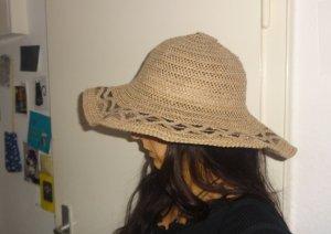 Straw Hat beige-camel