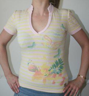 Sommer Stehkragen Shirt