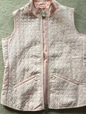 Quilted Gilet light pink