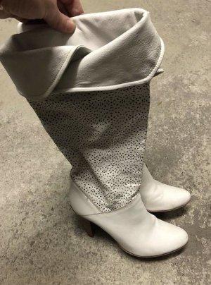 Heel Boots white