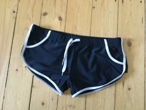 Hot pants zwart-wit