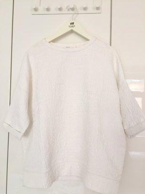 Sommer Sweatshirt, mit geprägten Detail