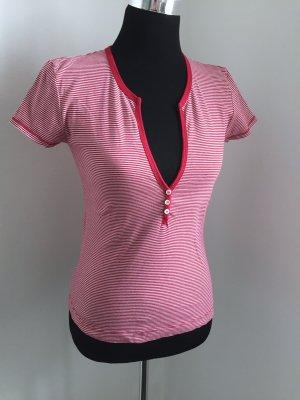 SOMMER-T-Shirt rot/weiß Streifen,für Jungs schöner Ausschnitt!!!  36/38