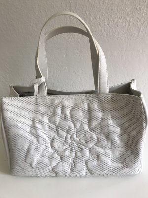 Anne Fontaine Carry Bag natural white leather