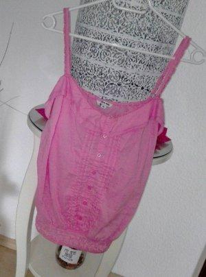Tally Weijl Haut à fines bretelles rose