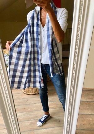 Sommer Tuch#Blau/Grau/Weiß #Lloyd