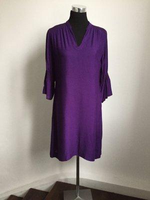 Sommer-Tunika-Kleid im edlen violett oder der letzte Versuch !