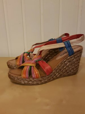 Cafènoir Wedge Sandals orange
