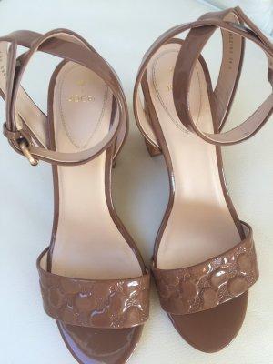 Joop! High Heel Sandal bronze-colored leather