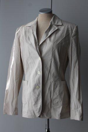 Comma Blazer long blanc cassé-beige clair