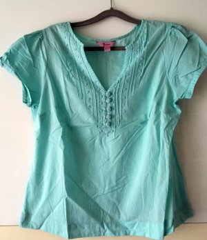 Sommerbluse in Mint von MONSOON Gr. 42