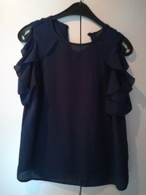 Atmosphere Blusa de manga corta azul oscuro