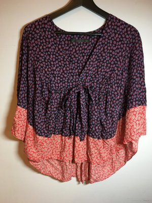 Zara Trafaluc Kimono blouse veelkleurig
