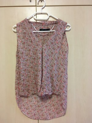 Sommerbluse mit Muster