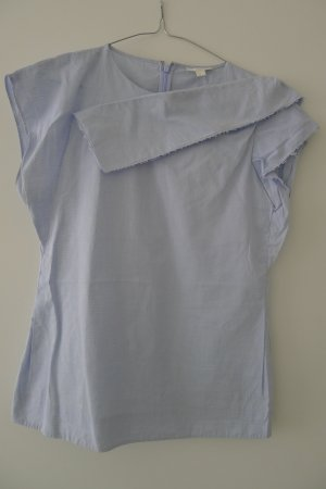 COS Blouse sans manche bleu pâle coton