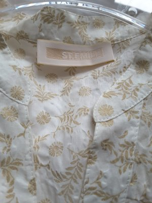 St. emile Splendor Blouse white-sand brown cotton