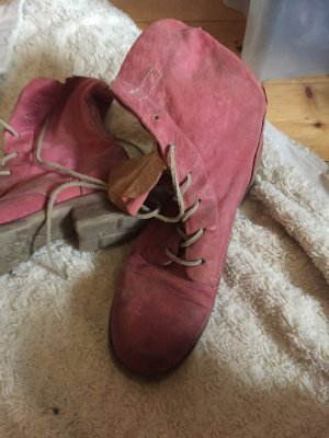Sommerboots in coolem pink