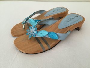Clog Sandals multicolored wood