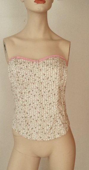Pepe Jeans London Corsage Top cream-pink