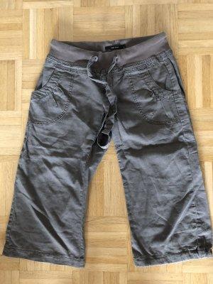 Vero Moda Pantalone di lino cachi-verde oliva Lino