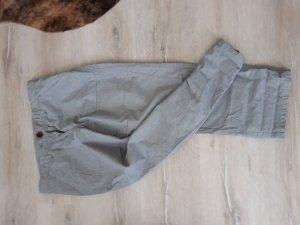 Opus Pantalon 3/4 blanc-bleu