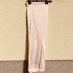 Marc Cain Marlene Trousers cream-light grey cotton